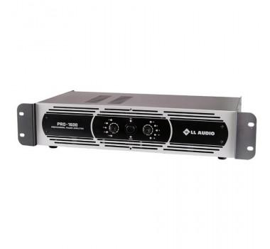 AMPLIF POTENCIA LL AUDIO 400WRMS PRO1600