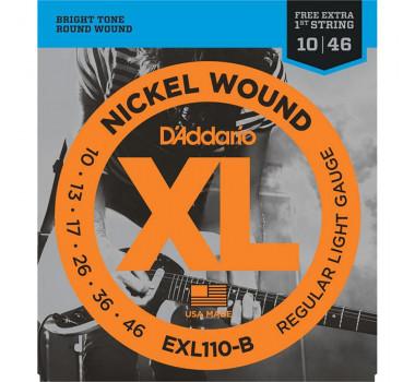 Encordoamento Guitarra Daddario Xl Exl110 010