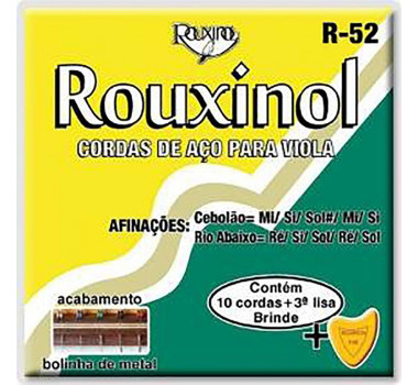 ENC VIOLA CAIPIRA ROUXINOL R52