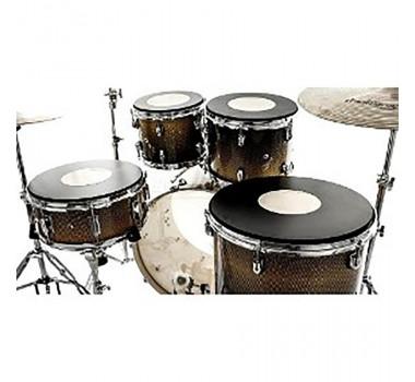 Kit De Pads Praticavel Para Bateria 10 12 14 E 14 Nevada Drums