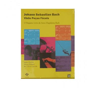 Metodo Orgao Eletronico Bach Irmaos Vitale 20 Pecas Faceis 236m