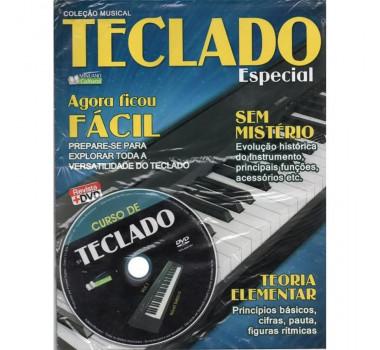 METODO REVISTA DVD TECLADO VOLUME I EDITORA MINUANO CULTURA