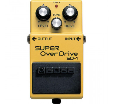 PEDAL GUITARRA BOSS SD1 SUPER OVERDRIVE