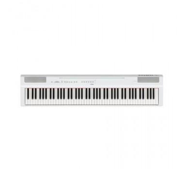 PIANO DIGITAL YAMAHA P125WH BRANCO