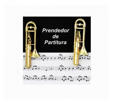 Prendedor De Partitura Clipets Paganini Trombone Ppt088