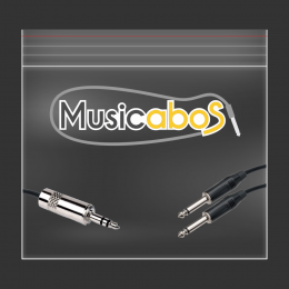 CABO Y MUSICABOS 1.5M SERIE AUDIO PLUS SOLUTION PHILLIPS 2X0,50 P2 2P10 MAPS1.5P2-2P10