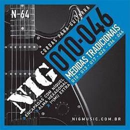 Encordoamento Guitarra Nig N64 010