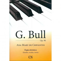 Metodo Orgao Eletronico G Bull Cn C Pedaleira Cn019