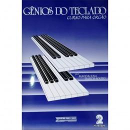 METODO ORGAO ELETRONICO PEQ ESTUDOS GENIOS DO TECLADO VOLUME 2