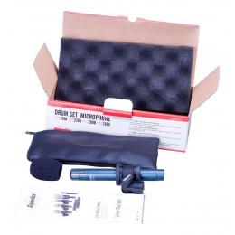 Microfone Com Fio Condensador Superlux Pro268b P/ Instrumentos